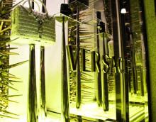 Versace – Vitrines – Milão – Itália
