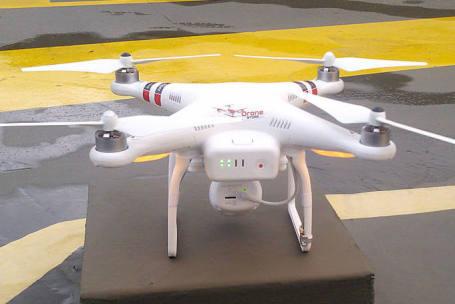 Empresa brasileira usa drones na segurança de seus shoppings