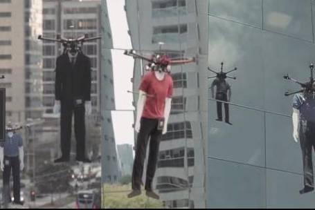 Colombo usa drones para promover desfile no céu