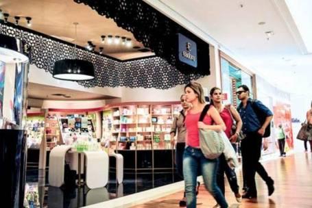 35% de lojas em shoppings são franquias.