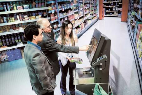 Autoatendimento chega aos supermercados