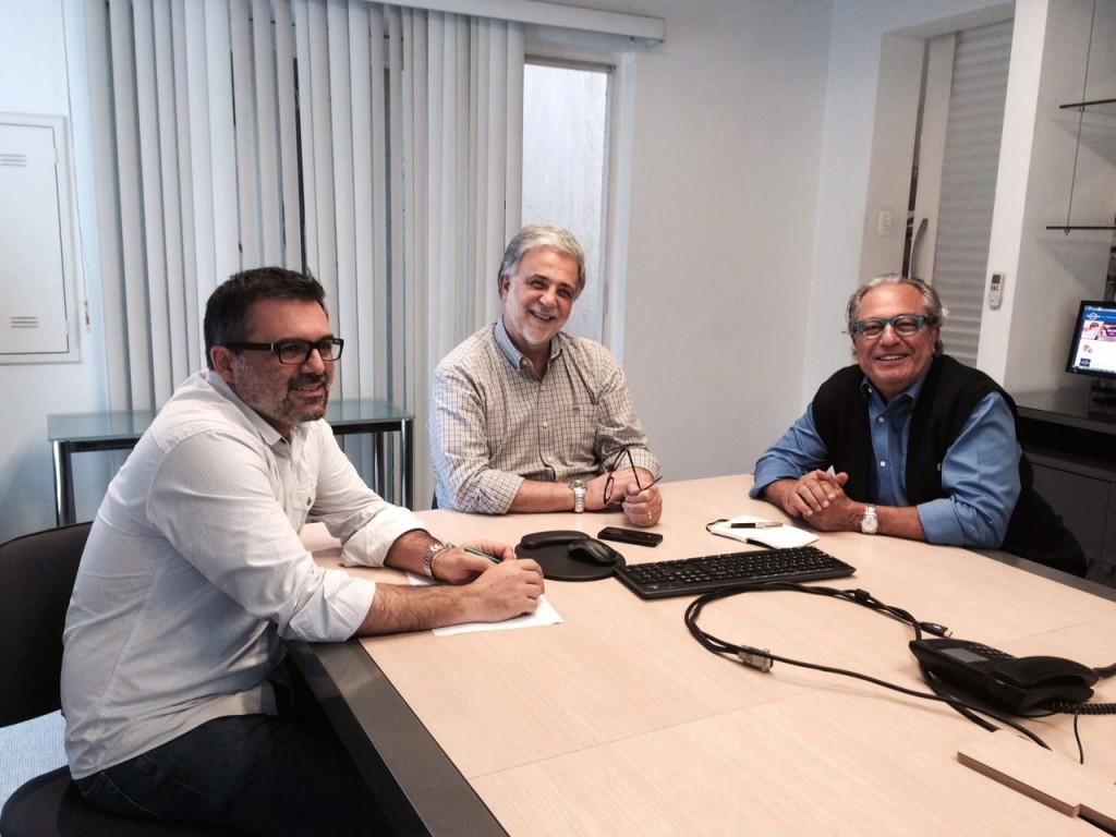 Mauro Minniti, Marcos Morrone e João Batista Ferreira.