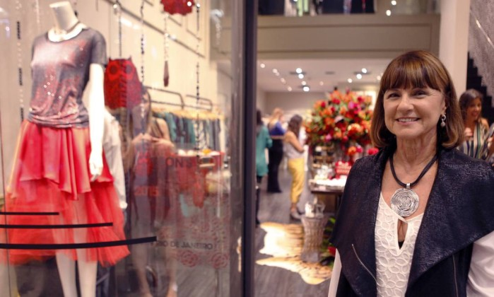 A empresária e estilista Mary Zaide aposta em qualidade de serviço e em operações enxutas para atravessar o período de retração no consumo - Gustavo Stephan