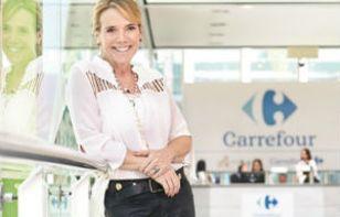 Sylvia Leão, vice-presidente de marketing do Carrefour Crédito: Arthur Nobre