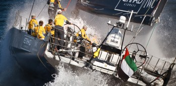 Abu Dhabi Ocean racing training in Cascais, prior to the start of the Volvo Ocean race 2011-12.