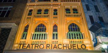 ARQUIVO 16/09/2016 ECONOMIA / MARKETING Fachada do Teatro Riachuelo, inaugurado no fim de agosto, no Rio de Janeiro CREDITO DIVULGAÇÃO