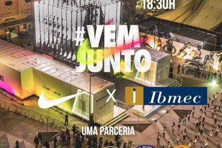 Vem junto! – A Jornada das Olimpíadas – Evento Nike & IBMEC