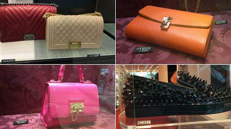 Grifes de luxo batem em retirada do Brasil em crise